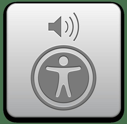 VoiceOver icon